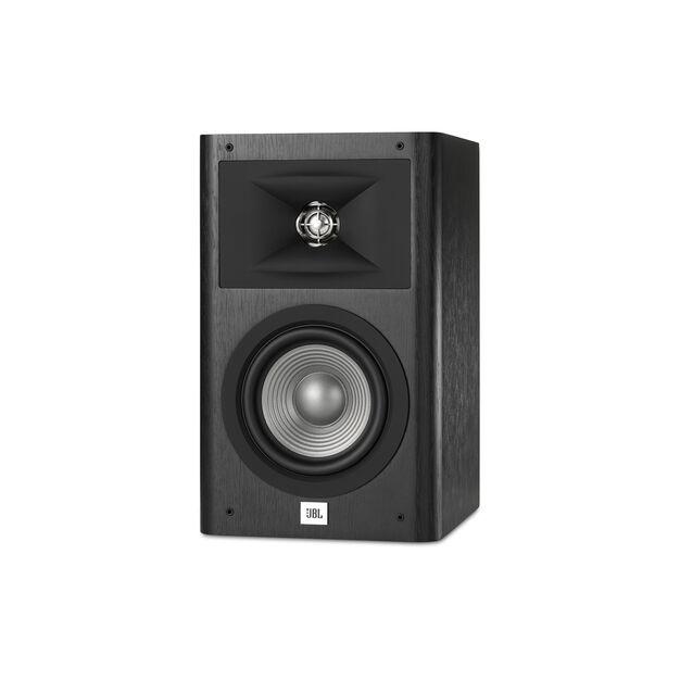 """Studio 230 - Black - Loudspeaker bookshelf 2-way berukuran 6,5"""" - Front"""