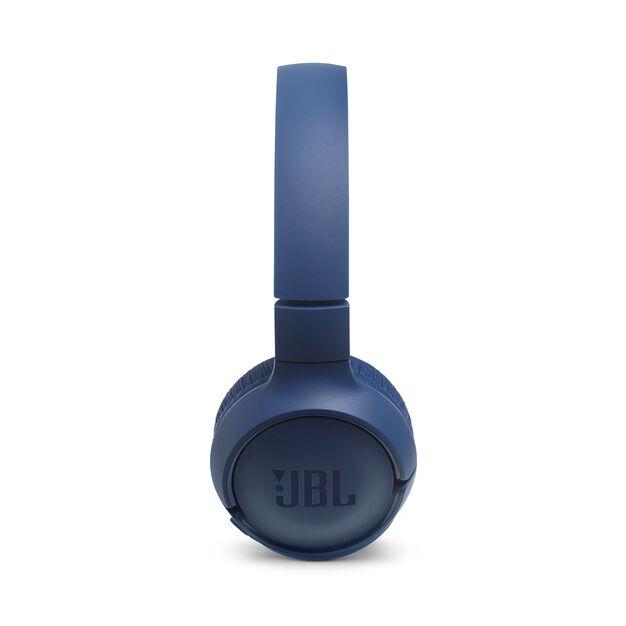 JBL TUNE 560BT - Blue - Wireless on-ear headphones - Left