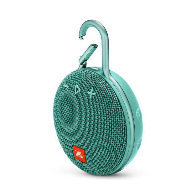 JBL CLIP 3 - River Teal - Portable Bluetooth® speaker - Hero