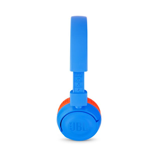 JBL JR300BT - Rocker Blue - Kids Wireless on-ear headphones - Detailshot 1