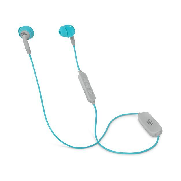JBL Inspire 500 Women - Teal - In-Ear Wireless Sport Headphones - Hero