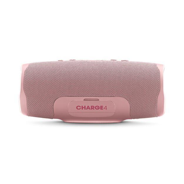 JBL Charge 4 - Pink - Portable Bluetooth speaker - Back
