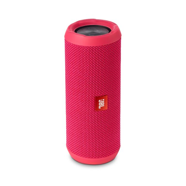 JBL Flip 3 - Pink - Splashproof portable Bluetooth speaker with powerful sound and speakerphone technology - Detailshot 2