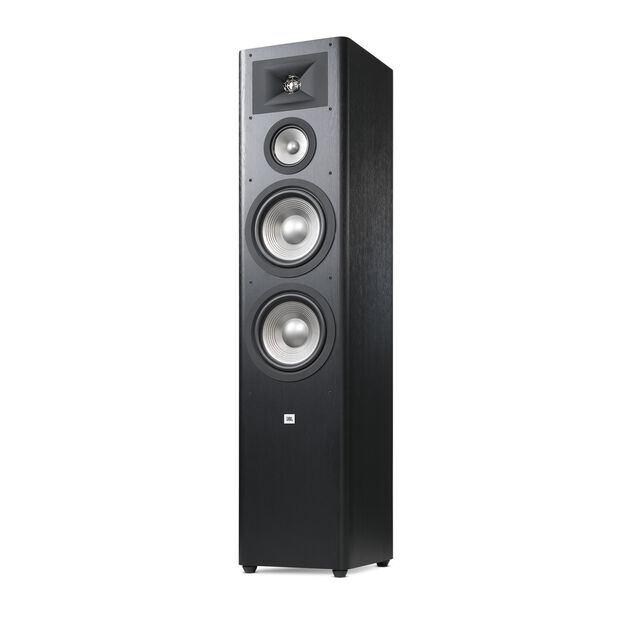 "Studio 290 - Black - 3-way Dual 8"" Floorstanding Loudspeaker - Detailshot 1"