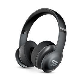 JBL®  Everest™ 300 - Black - On-ear Wireless Headphones - Hero