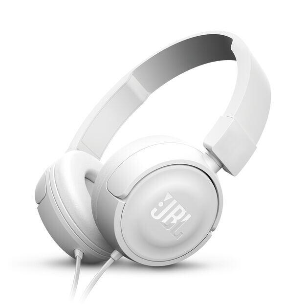 JBL T450 - White - On-ear headphones - Hero