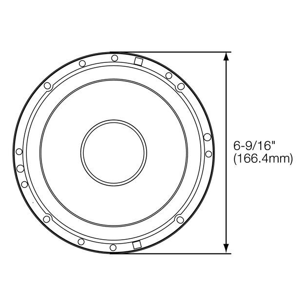 Stage 600CE - Black - Series of affordable coaxial and component speakers - Detailshot 3