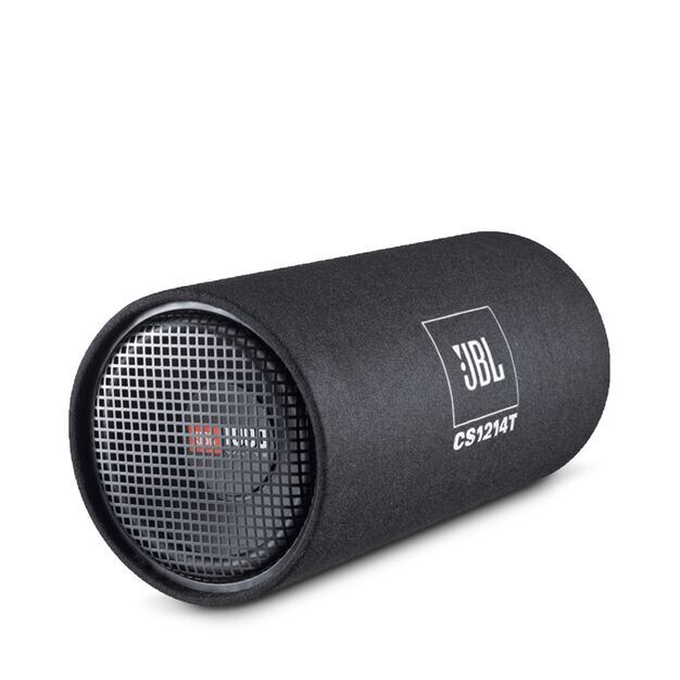 CS1214T - Black - Bass tube with 30 cm (12 inch) subwoofer, can take peak load of 1000 Watts - Hero