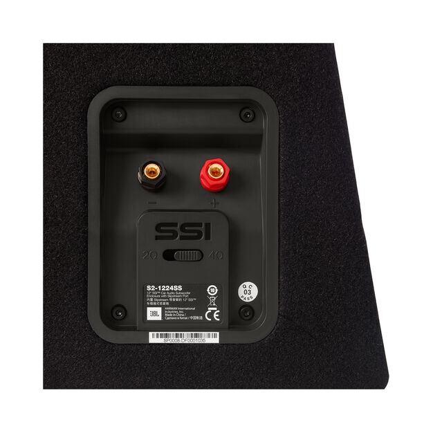 s2 1224ss 12 300mm slipstream ported enclosure. Black Bedroom Furniture Sets. Home Design Ideas
