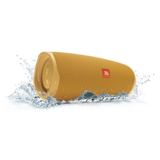 JBL Charge 4 - Mustard Yellow - Portable Bluetooth speaker - Detailshot 5