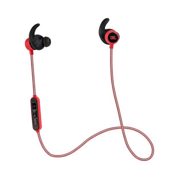 Reflect Mini BT - Red - Lightest Bluetooth Sport Earphones - Hero