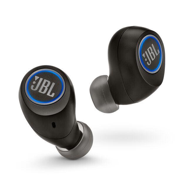 JBL Free X - Black - Truly wireless in-ear headphones - Front