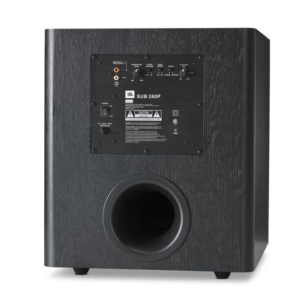 Studio 260p Powerful 300 Watt 12 Inch Powered Subwoofer