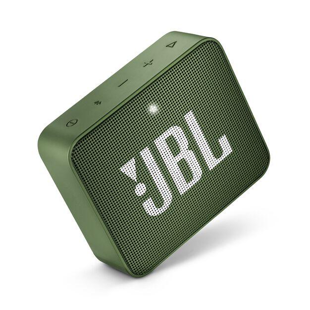 JBL GO 2 - Moss Green - Portable Bluetooth speaker - Detailshot 1