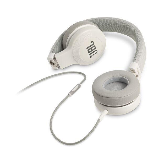 E35 - White - On-ear headphones - Detailshot 3