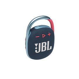 JBL CLIP 4 - Blue / Pink - Ultra-portable Waterproof Speaker - Hero