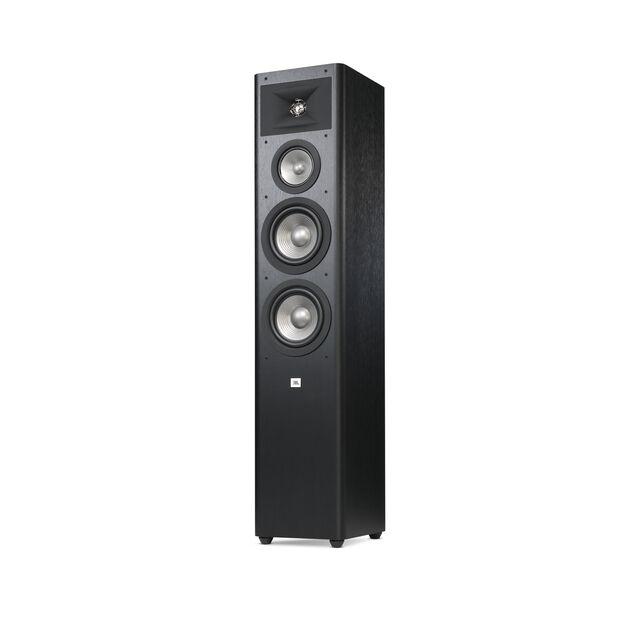 "Studio 280 - Black - 3-way Dual 6.5"" Floorstanding Loudspeaker - Detailshot 3"