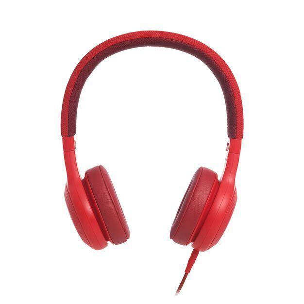 E35 - Red - On-ear headphones - Detailshot 2