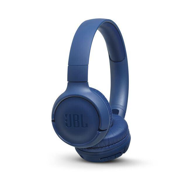 JBL TUNE 560BT - Blue - Wireless on-ear headphones - Hero