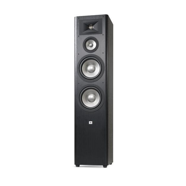 "Studio 290 - Black - 3-way Dual 8"" Floorstanding Loudspeaker - Detailshot 2"