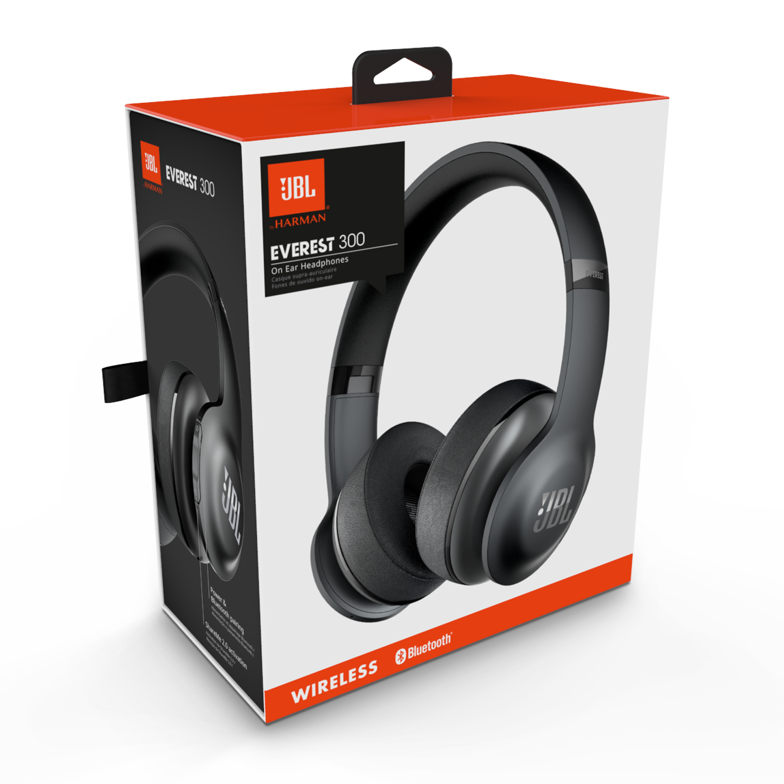 149fb58cd2e JBL Everest 300 | Bluetooth Headphones with 20-Hour Battery