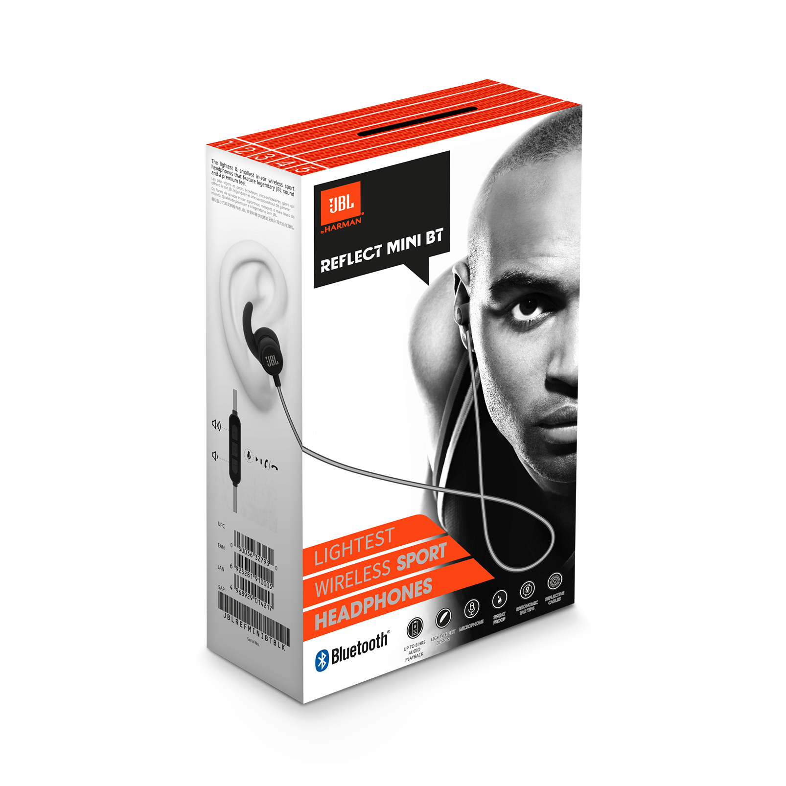 b626b7575aa JBL Reflect Mini BT | Small Bluetooth Sport Earphones