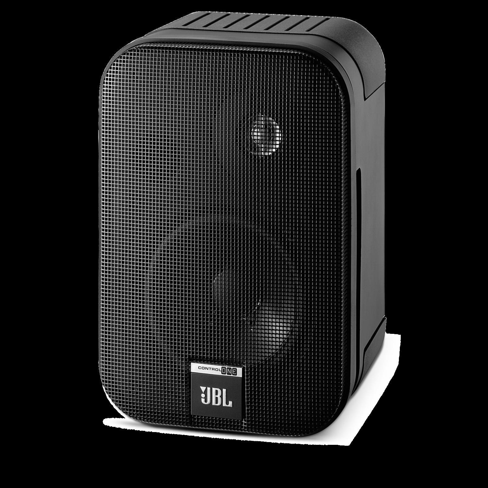 schwarz 2-Wege Lautsprecher 2-Wege Studio Monitor 1A JBL Control ONE 1 SCS