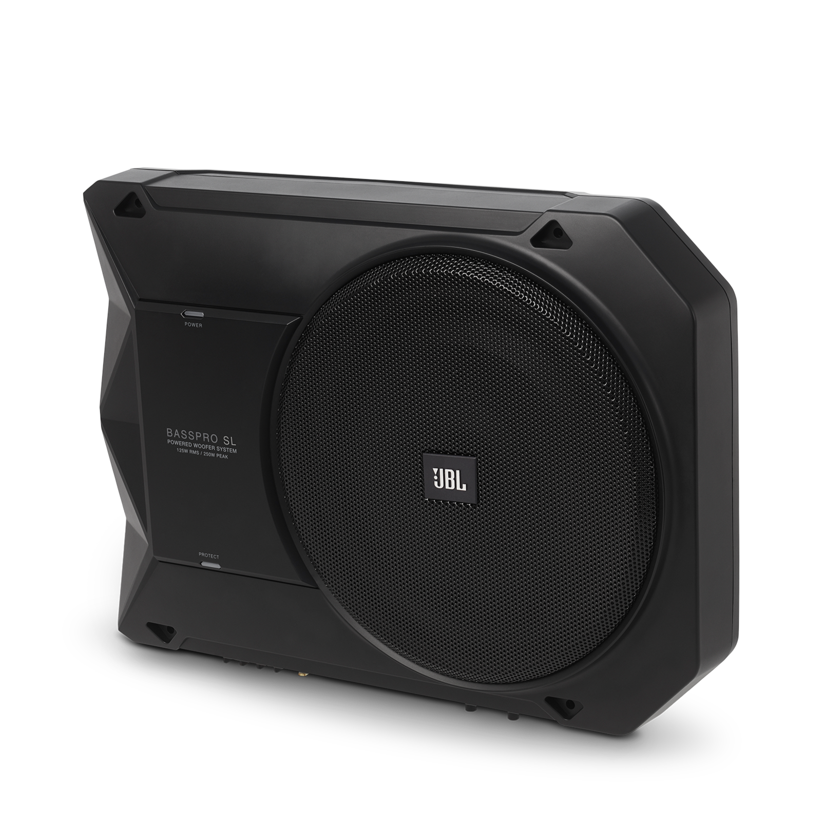 "JBL BassPro SL | Powered 8"" Under-seat Car Subwoofer"